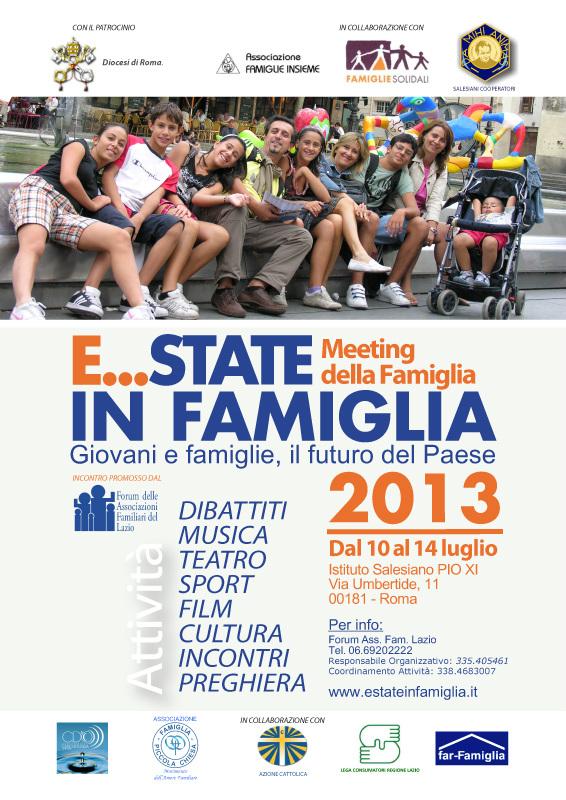 Forum Famiglie Lazio - Estate in famiglia