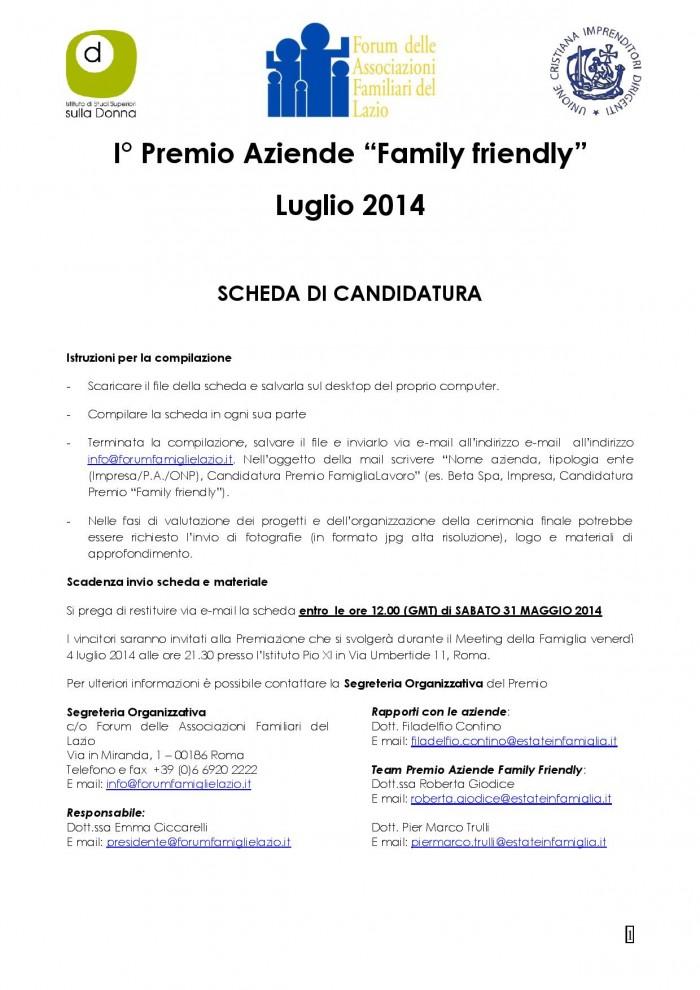2014 - Istruzioni Scheda Candidatura Premio Aziende Family Friendly-page-001