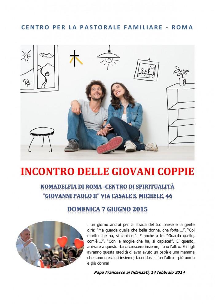 INCONTRO DELLE GIOVANI COPPIE 7 giugno 2015-page-001